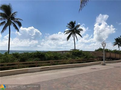 Hollywood Condo/Townhouse For Sale: 101 N Ocean Dr #221