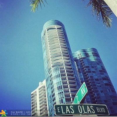 Fort Lauderdale Condo/Townhouse For Sale: 333 Las Olas Way #2506