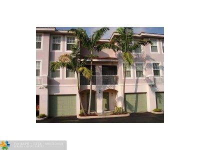 Coral Springs Condo/Townhouse For Sale: 6736 W Sample Rd #B25