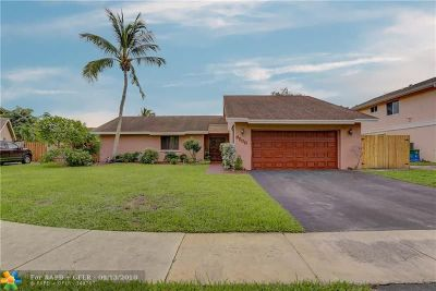 Pembroke Pines Single Family Home Backup Contract-Call LA: 9508 SW 8th St