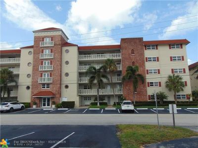 Fort Lauderdale Condo/Townhouse For Sale: 5100 Bayview Dr #405