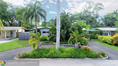 Fort Lauderdale Single Family Home For Sale: 2475 Cat Cay Ln