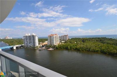 Broward County Condo/Townhouse For Sale: 920 Intracoastal Dr #1502
