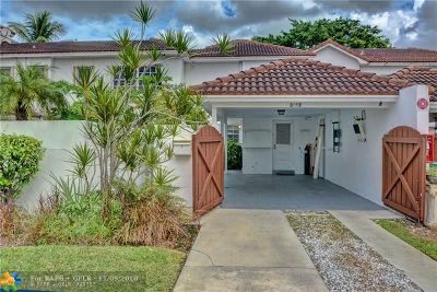 Coral Springs Condo/Townhouse For Sale: 3227 Coral Springs Dr #11