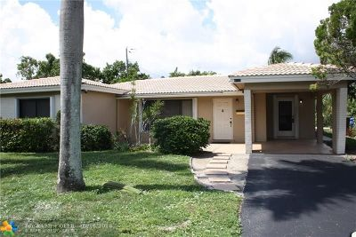 Oakland Park Single Family Home For Sale: 4511 NE 15th Way