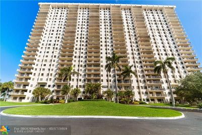 Hollywood Condo/Townhouse For Sale: 1201 S Ocean Dr #1801S