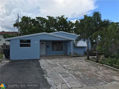 Fort Lauderdale Single Family Home For Sale: 3431 SW 13th Ct