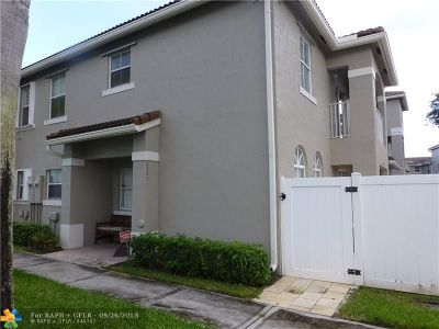 Miramar Condo/Townhouse For Sale: 5353 SW 125th Ave #5353