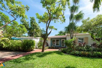 Fort Lauderdale Single Family Home For Sale: 612 NE 17th Ave