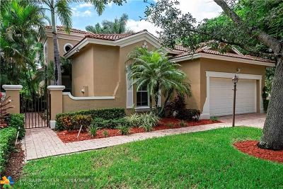 Coral Springs Single Family Home Backup Contract-Call LA: 5876 NW 122nd Way