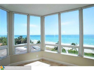 Broward County, Palm Beach County Condo/Townhouse For Sale: 1073 Hillsboro Mile #6N