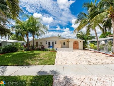 Fort Lauderdale Single Family Home For Sale: 5811 NE 2nd Ter