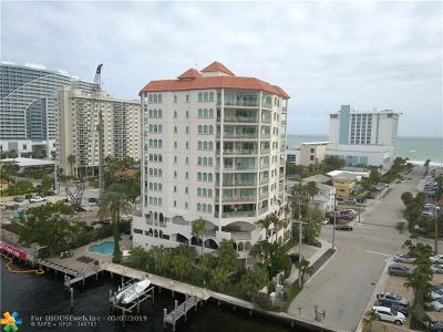 Fort Lauderdale Condo/Townhouse For Sale: 301 N Birch #4S