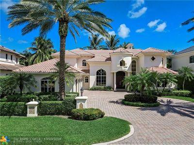 Boca Raton Single Family Home For Sale: 1836 Sabal Palm Dr