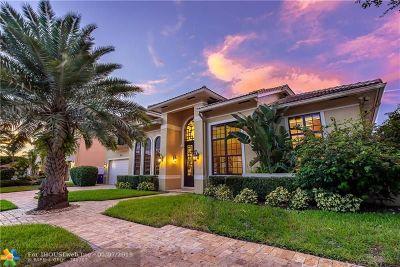 Fort Lauderdale Single Family Home For Sale: 3071 NE 43rd St