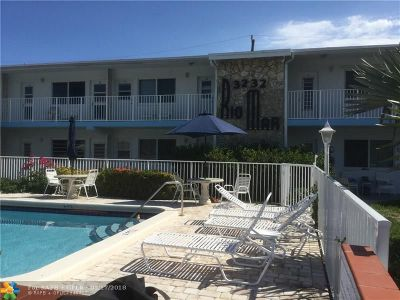 Pompano Beach Condo/Townhouse For Sale: 3232 Canal Dr #6