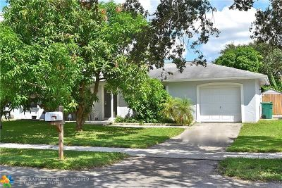 Davie Single Family Home For Sale: 12481 SW 10th Ct