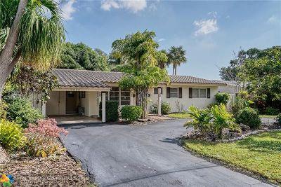 Fort Lauderdale Single Family Home For Sale: 2824 NE 21st Ter