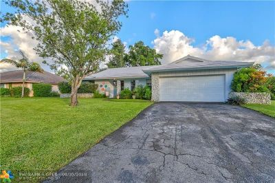 Coral Springs Single Family Home For Sale: 1107 NW 84th Dr