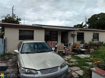 Lauderhill Single Family Home Backup Contract-Call LA: 3421 NW 18th Pl