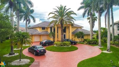 Coral Springs Single Family Home For Sale: 1457 NW 126th Dr