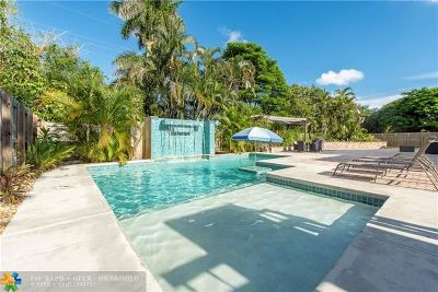 Wilton Manors Single Family Home Backup Contract-Call LA: 2400 NW 6th Ave