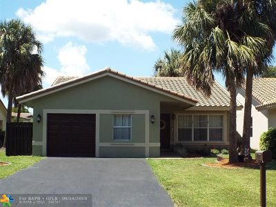 Coral Springs Single Family Home For Sale: 1480 NW 97th Ave