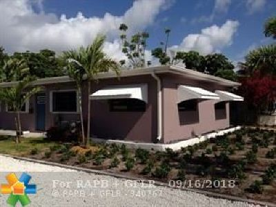 Fort Lauderdale Single Family Home For Sale: 415 NE 15th St