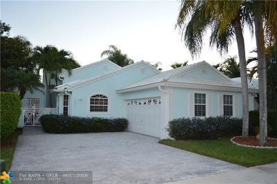 Pembroke Pines Single Family Home For Sale: 15250 Wilshire Way