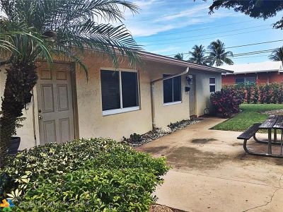 Pompano Beach Multi Family Home For Sale: 410 NE 12th Ave