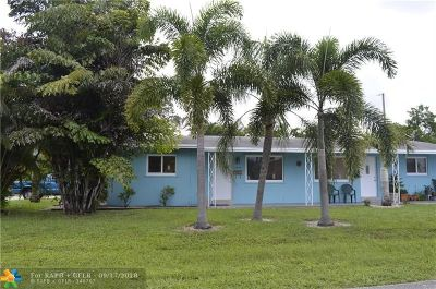 Wilton Manors Rental For Rent: 3048 NE 2nd Ter #1