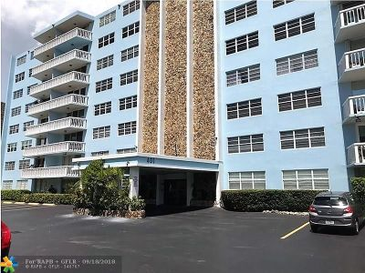 Hallandale Condo/Townhouse For Sale: 401 NE 14th Ave #305