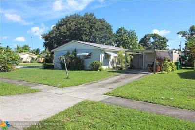 Margate Single Family Home Backup Contract-Call LA: 6700 NW 8th St