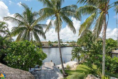 Fort Lauderdale Single Family Home For Sale: 2325 NE 20th St