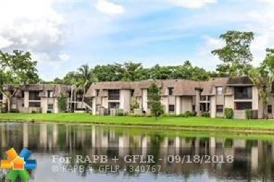 Sunrise Condo/Townhouse For Sale: 3565 NW 94th Ave #3D