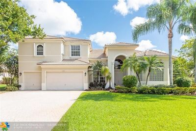 Coral Springs Single Family Home For Sale: 11963 NW 9th St