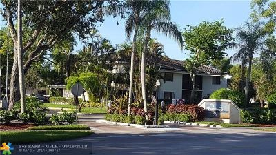 Plantation Condo/Townhouse For Sale: 1729 NW 81st Way #1729