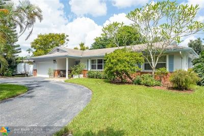 Broward County Single Family Home For Sale: 8501 SW 26th Pl