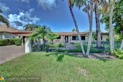 Fort Lauderdale Single Family Home For Sale: 2649 NE 35th St