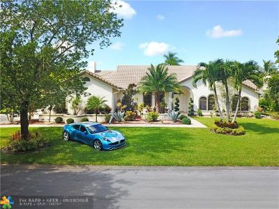 Coral Springs FL Single Family Home For Sale: $599,999
