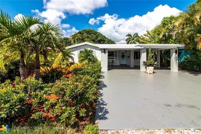 Fort Lauderdale FL Single Family Home For Sale: $350,000