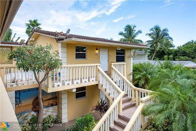 Fort Lauderdale Condo/Townhouse For Sale: 811 NE 14th Pl #10