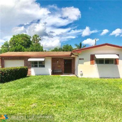 Single Family Home For Sale: 8631 Johnson St