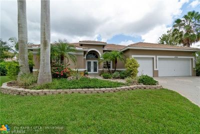 Coral Springs Single Family Home For Sale: 4989 NW 110th Ter