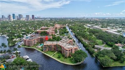 Fort Lauderdale Condo/Townhouse For Sale: 1350 River Reach Dr #410