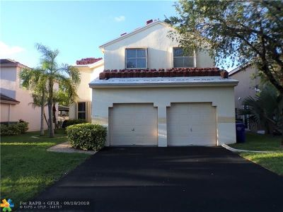 Pembroke Pines Single Family Home For Sale: 18453 NW 20th St