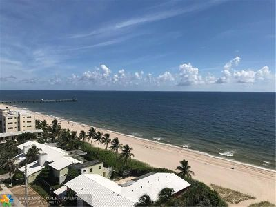 Lauderdale By The Sea Condo/Townhouse For Sale: 4050 N Ocean Dr #1205