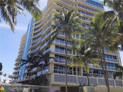 Fort Lauderdale Condo/Townhouse For Sale: 1200 Holiday Dr #307