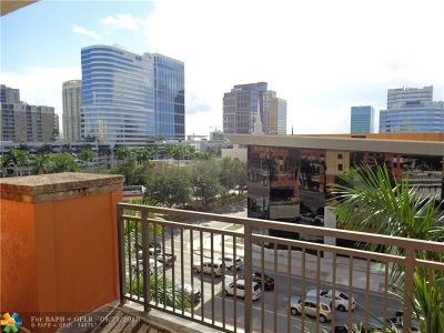 Fort Lauderdale Condo/Townhouse For Sale: 110 N Federal Hwy #503