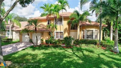 Coral Springs Single Family Home Backup Contract-Call LA: 6421 NW 42nd Ct